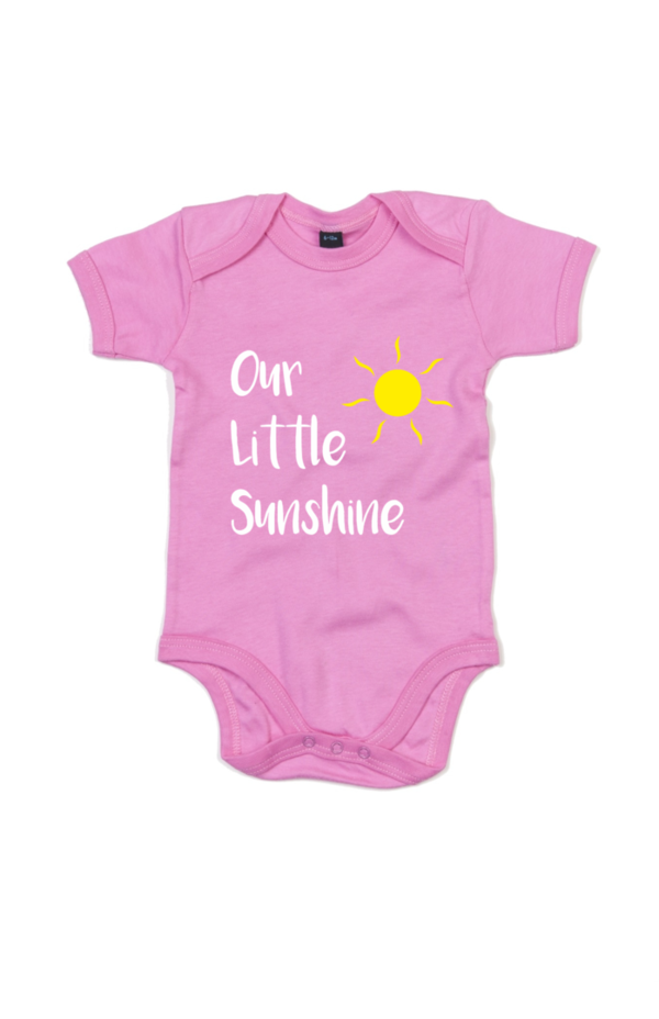 "Vauvojen lyhythihainen body ""Our Little Sunshine"""